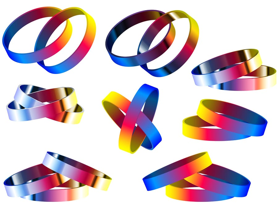 bigstock Gay Marriage Rainbow Rings And