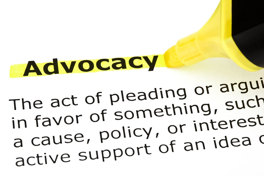bigstock Advocacy Highlighted In Yellow