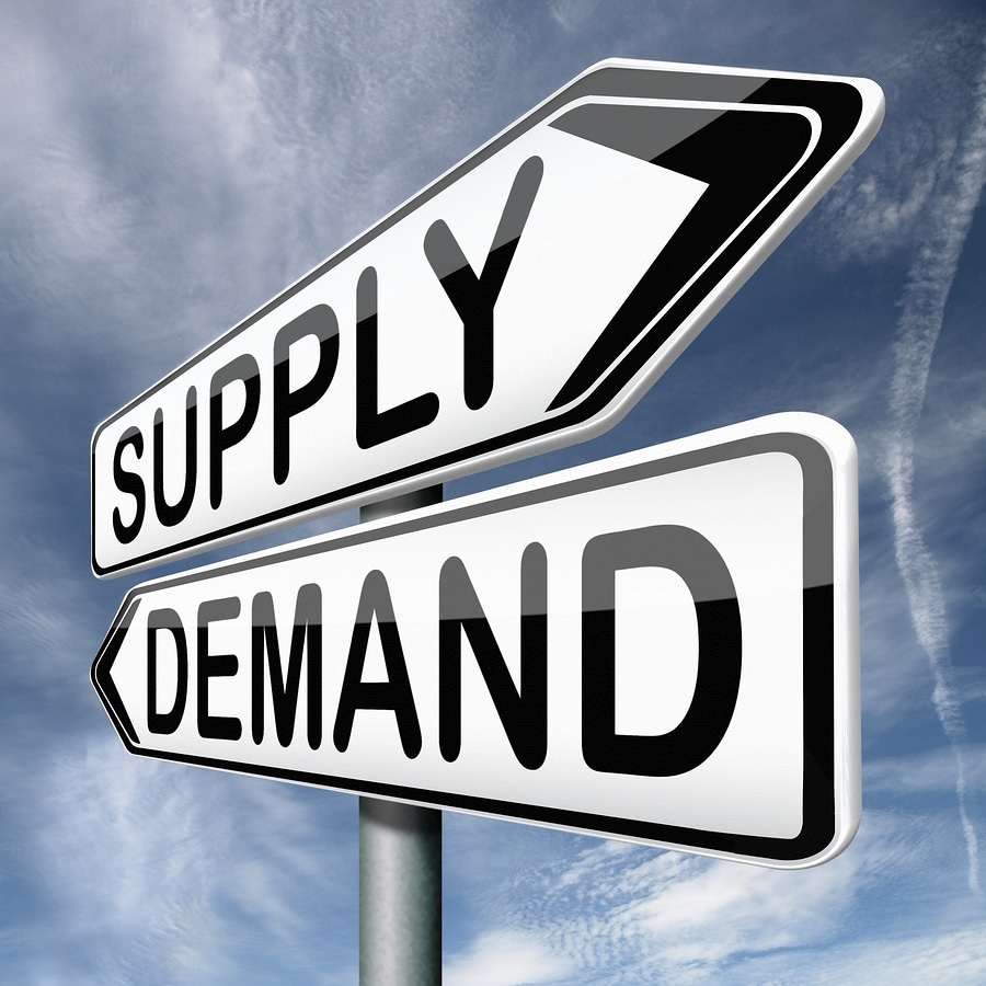 bigstock supply and demand market price