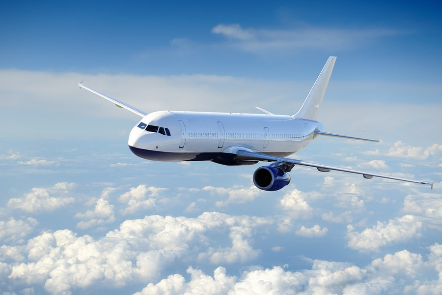bigstock Airplane in the cloudy sky P