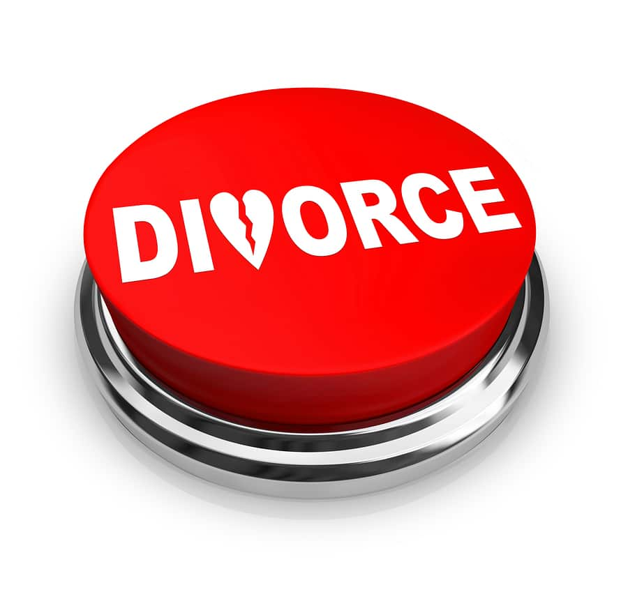 bigstock Divorce Red Button