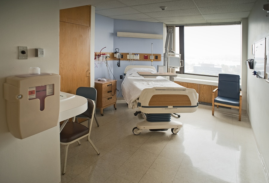 bigstock Hospital room