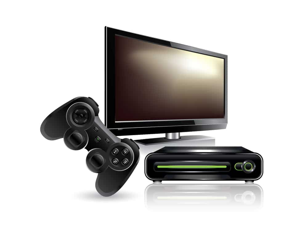 bigstock Video game console