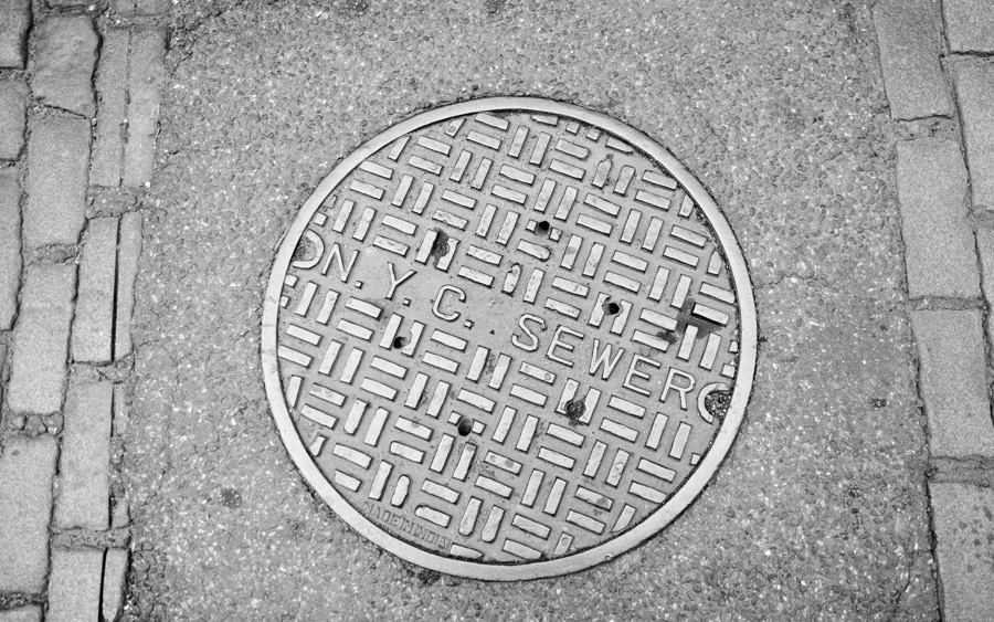 bigstock New York City Manhole Cover