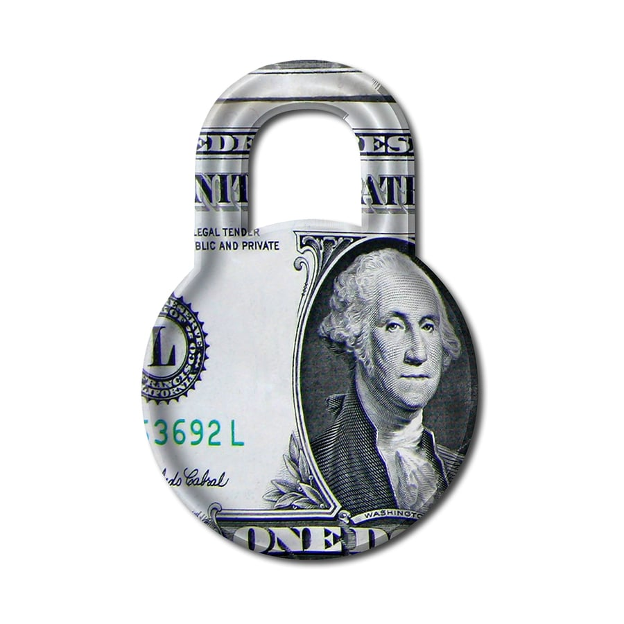 bigstock Secure Money Price Lock