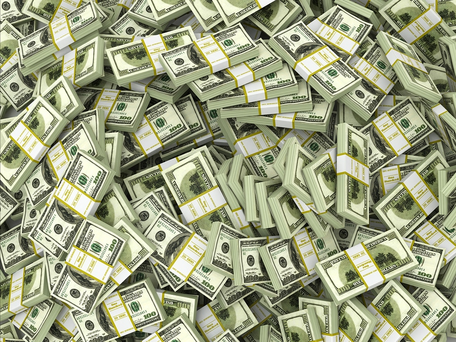 bigstock Dollars Background from packs