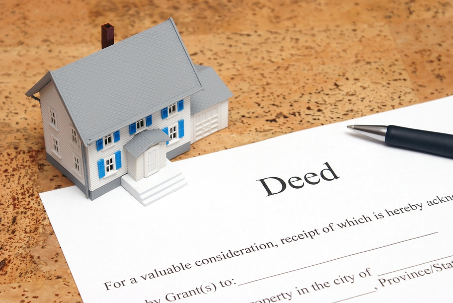 bigstock Deed To A House