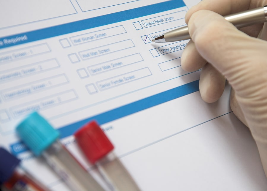medical malpractice and tests