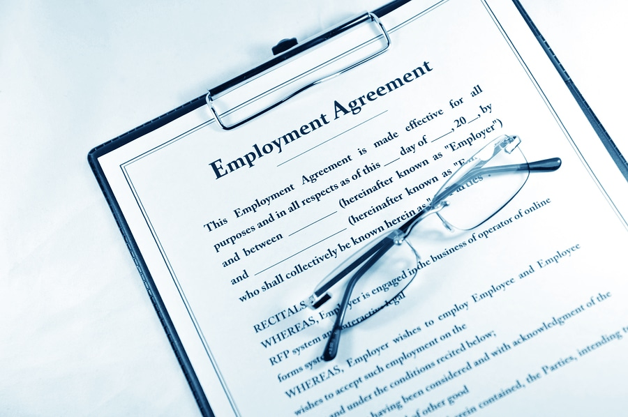 bigstock Employment contract