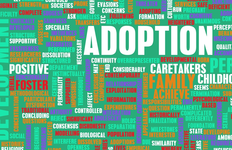 bigstock Adoption of Child or Pet as a