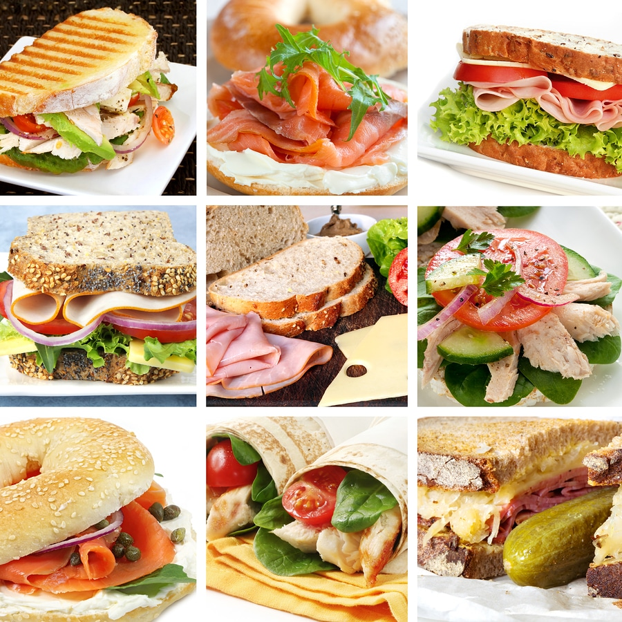 bigstock Sandwiches Collage