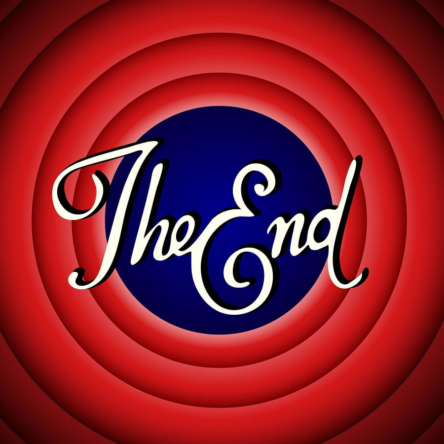 bigstock Vintage Movie Ending Screen