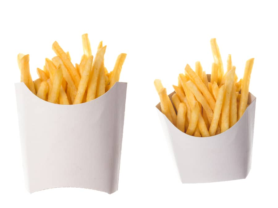 bigstock French Fries In A Paper Wrappe