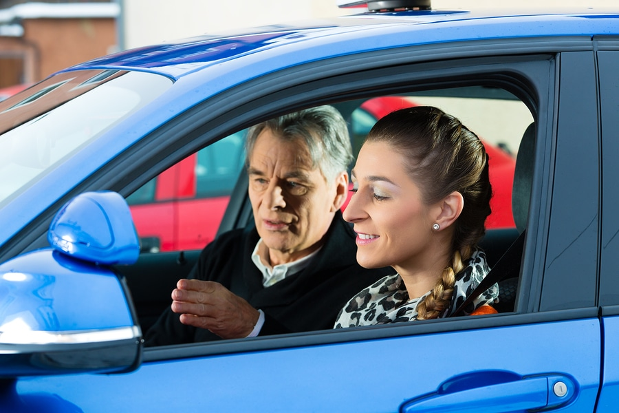 bigstock Driving School Young woman s