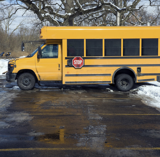 Bus company tries to deny responsibility for student's accident