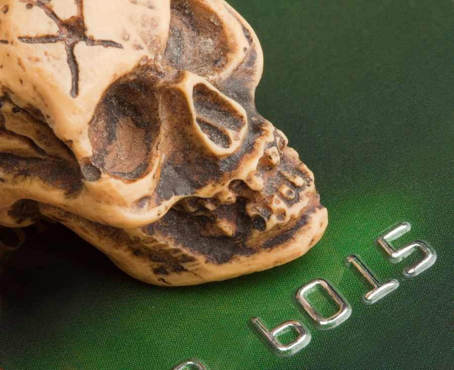 bankruptcy study credit card photo