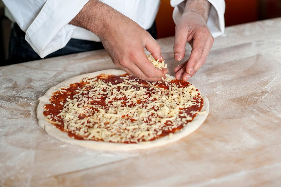 pizza business distributed in divorce