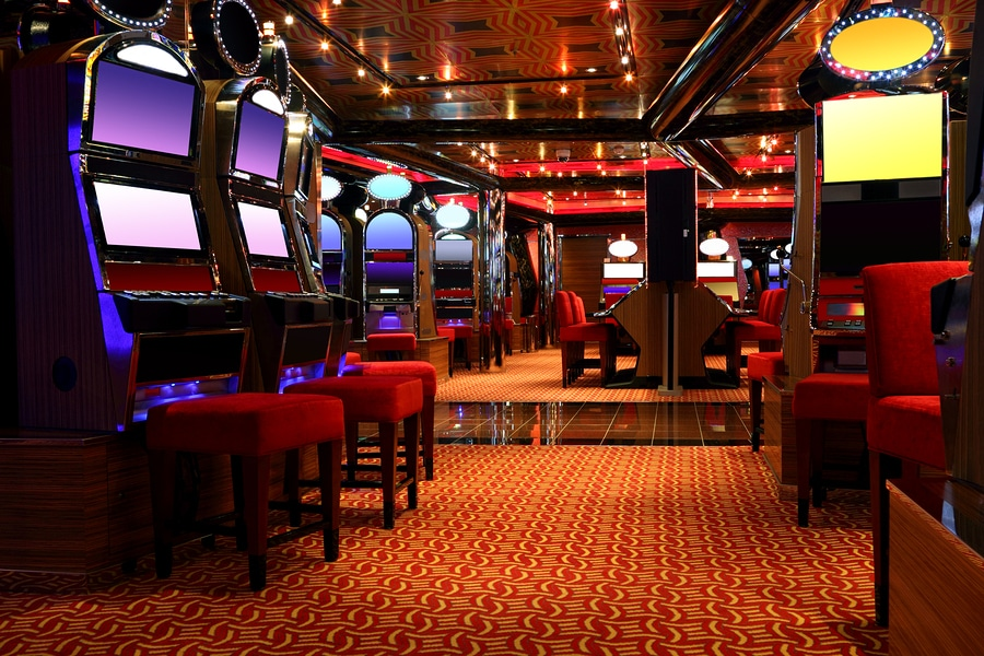 bigstock Modern Empty Casino Hall With