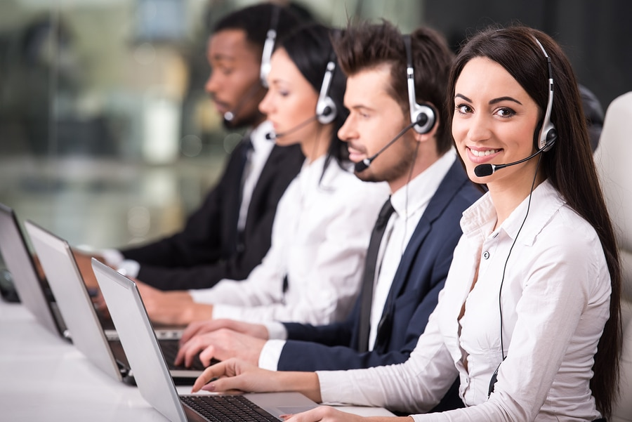 bigstock Call Center