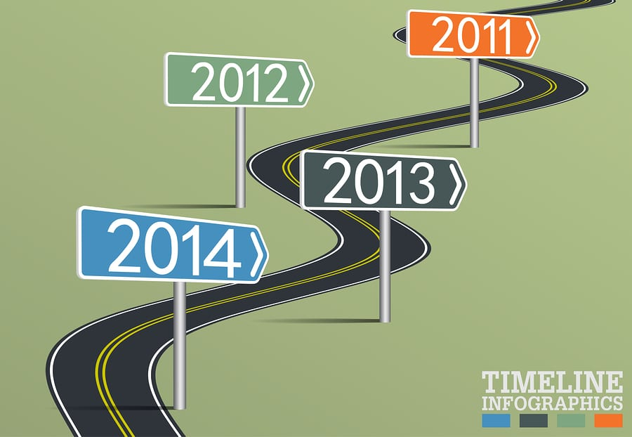 bigstock Timeline Infographic Template