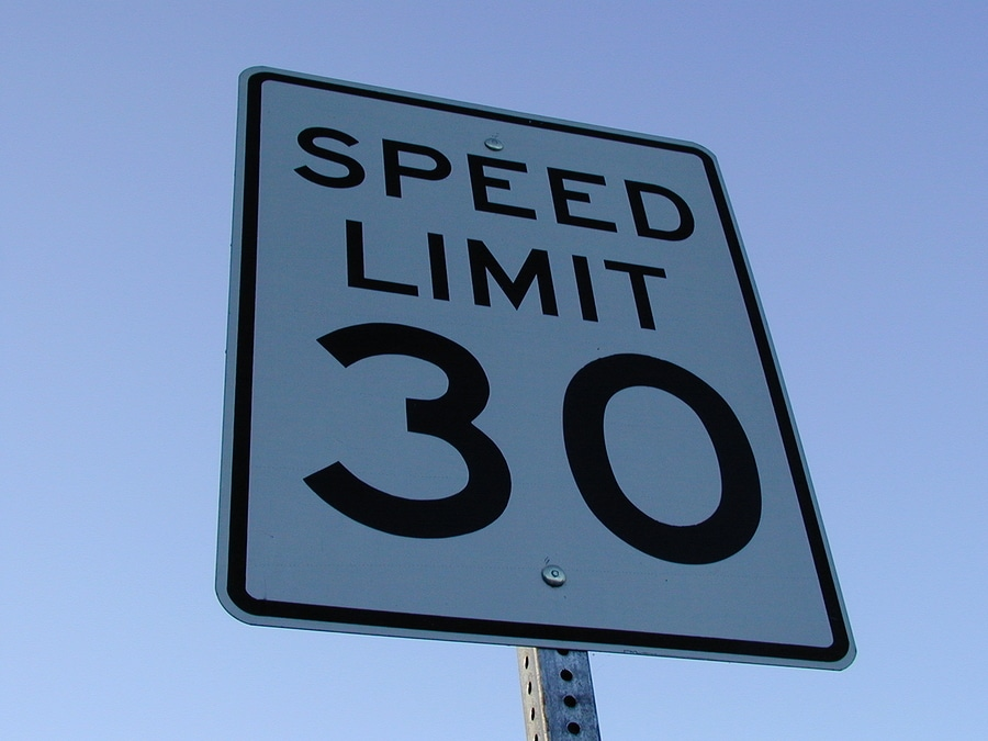 bigstock Speed Limit Sign Mph