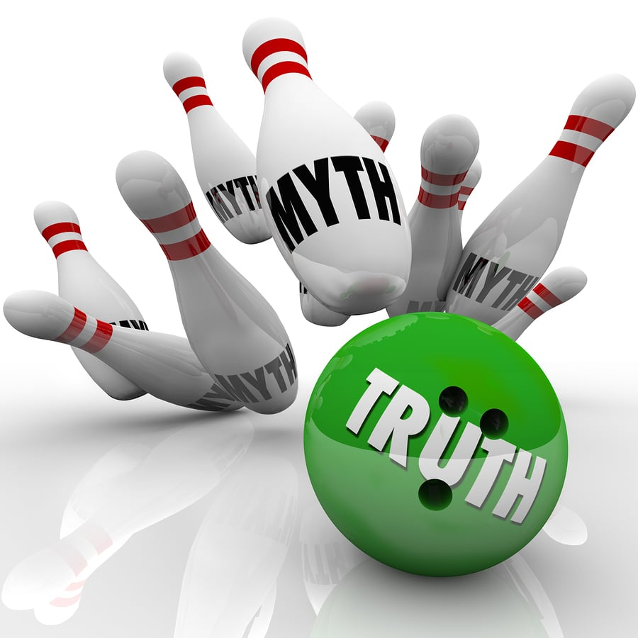 bigstock Truth vs Myths Bowling Ball St