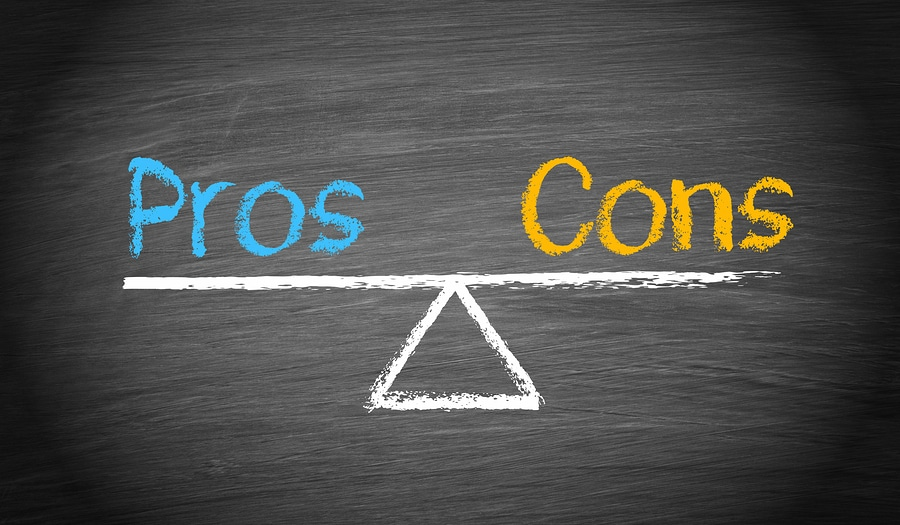 bigstock Pros And Cons Balance Concep