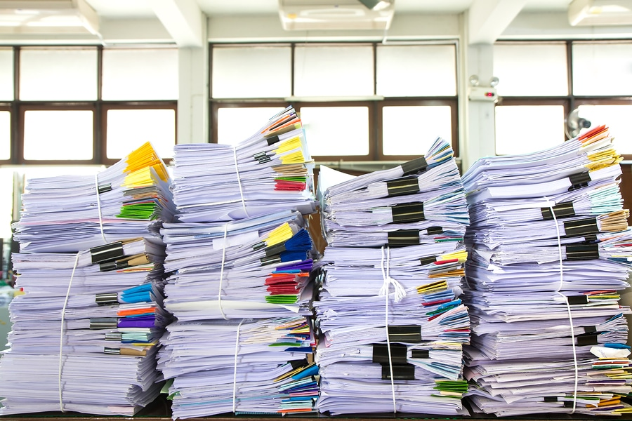 bigstock Stack Of Business Papers