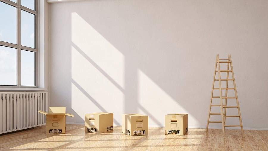 bigstock Relocation with moving boxes i