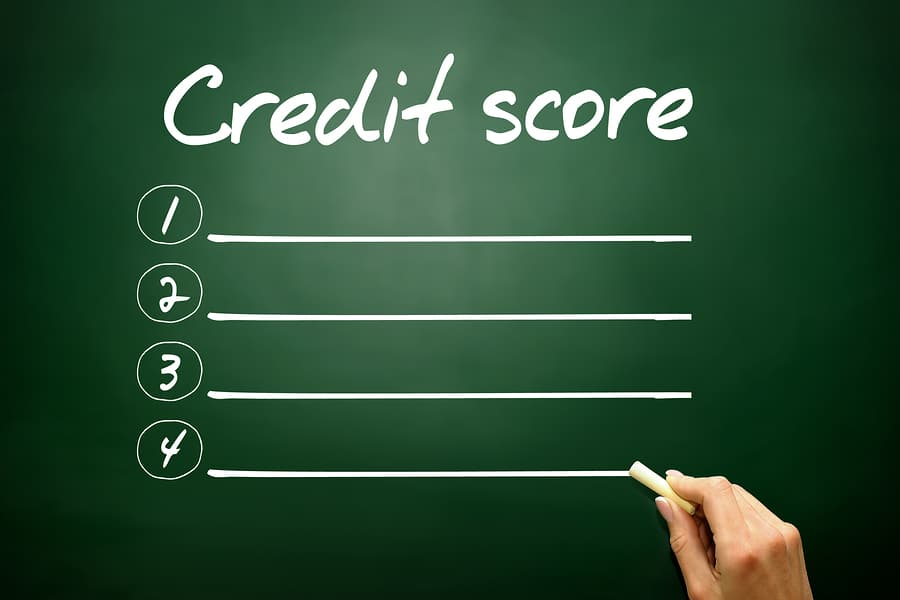 credit score post bankruptcy