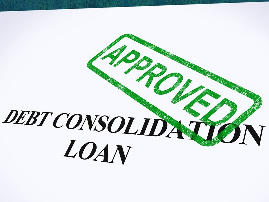 bigstock Debt Consolidation Loan Approv