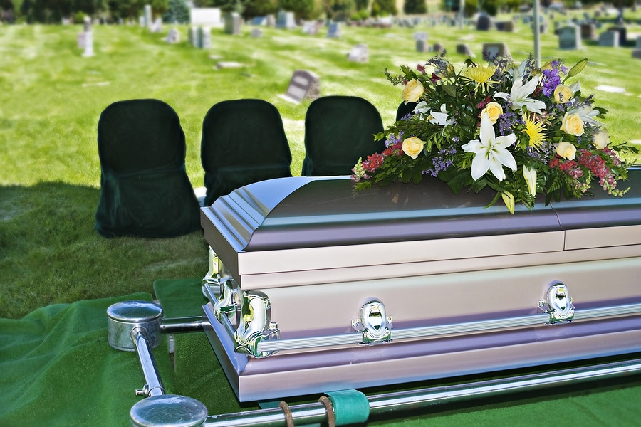 wrongful death funeral