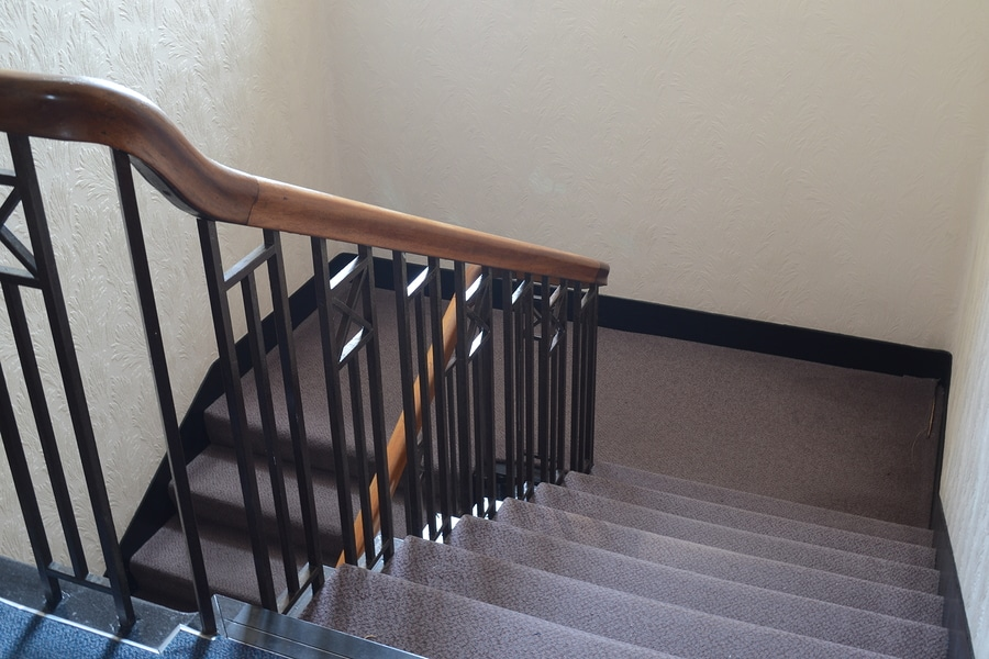 slip and fall injuries on stairs