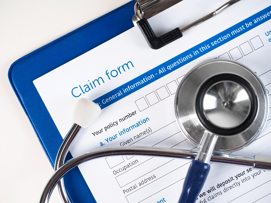 bigstock Health Insurance Claim Form