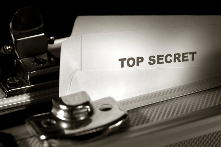 bigstock Top Secret Document In A Brief