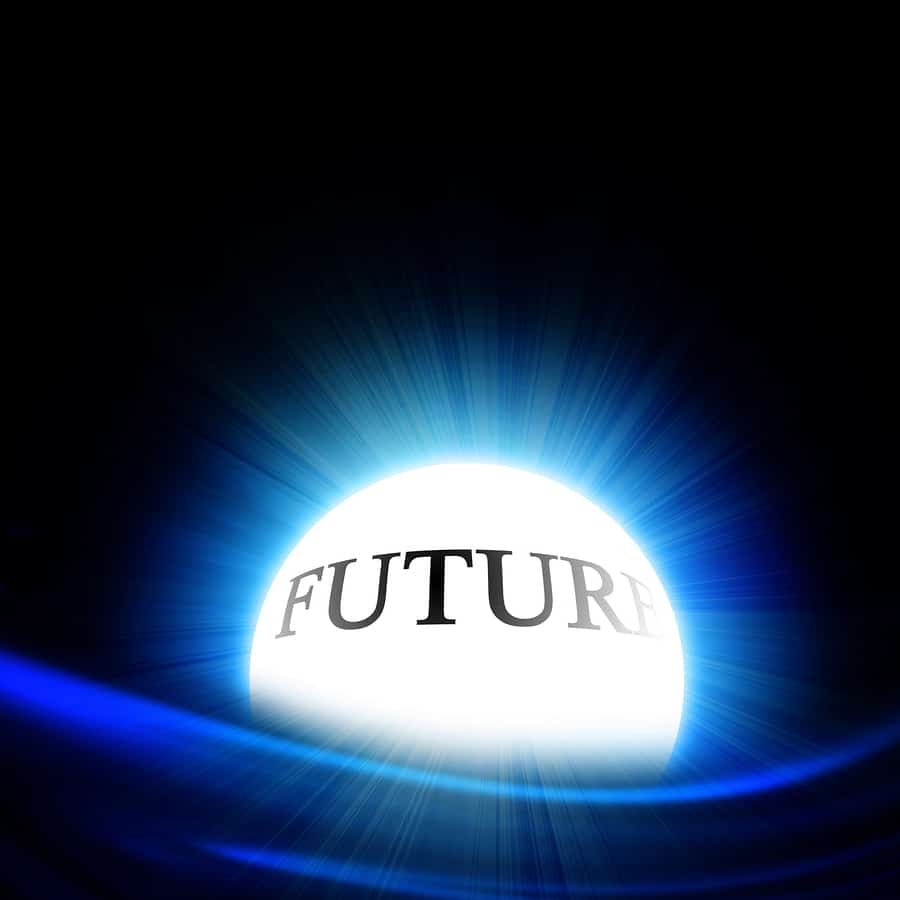 bigstock Crystal Ball With Future