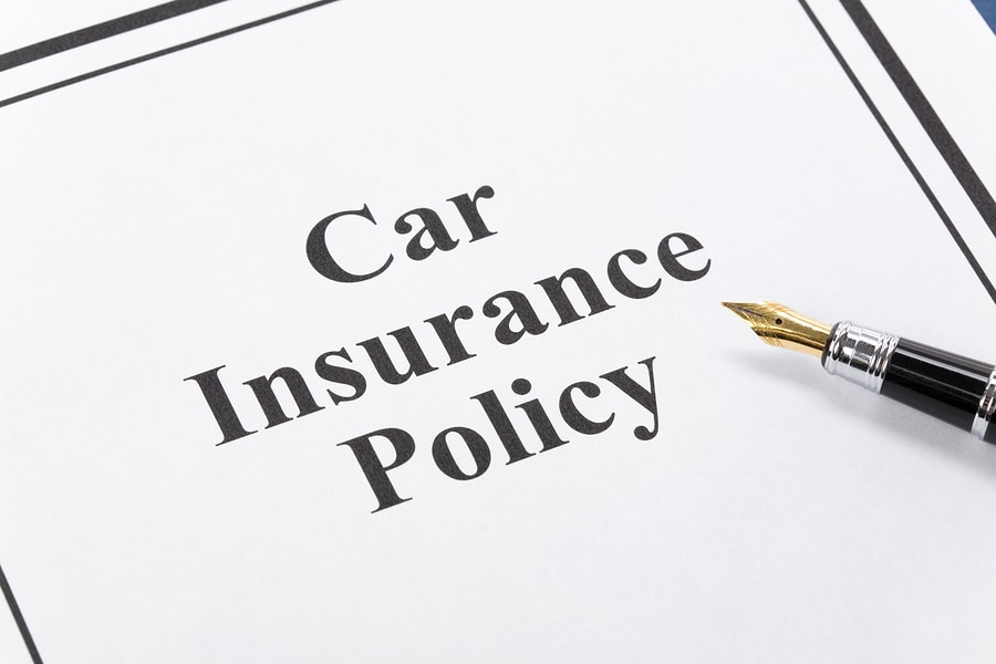bigstock Car Insurance Policy