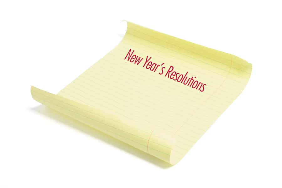 bigstock New Year s Resolutions