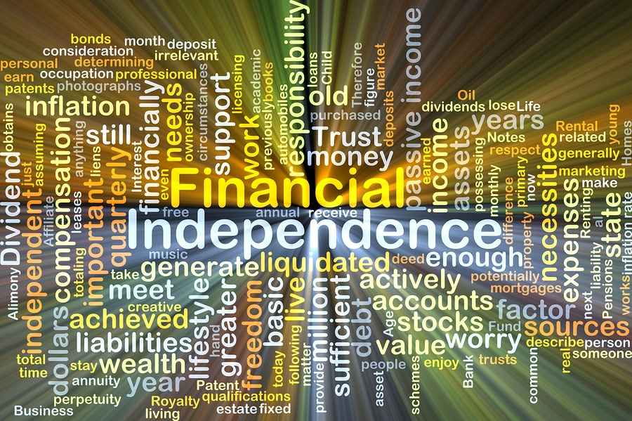 "bankruptcy word cloud ""financial independence"""
