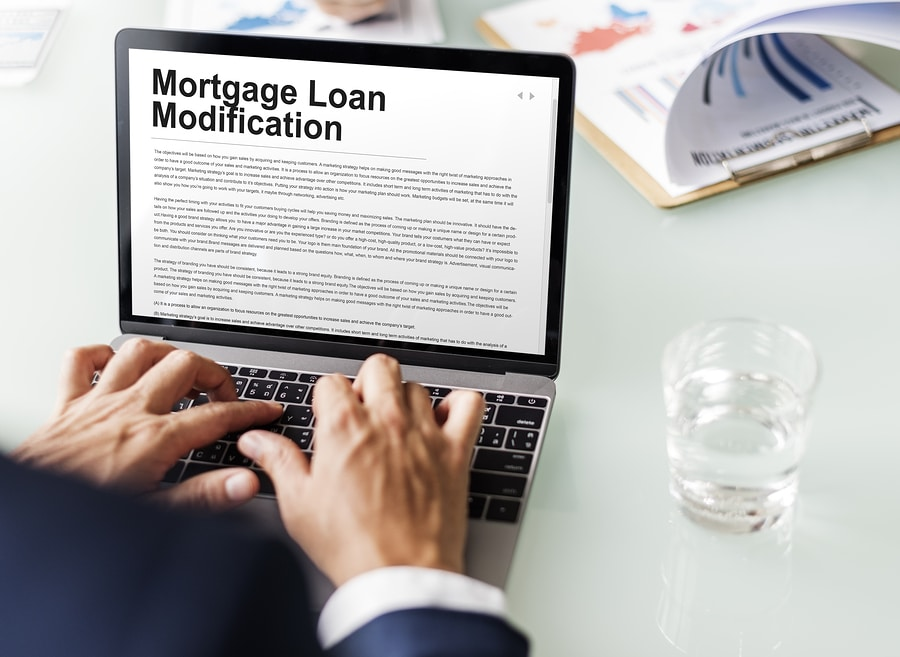 mortgage modification application