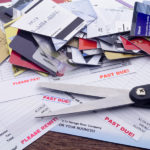past due debt and credit cards