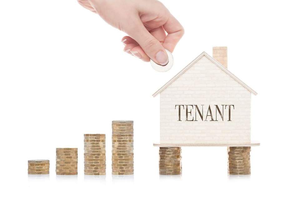 tenants and bankruptcy money concept