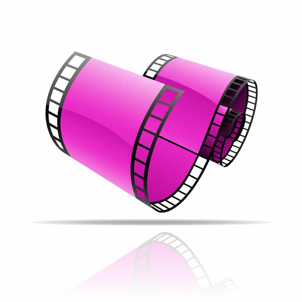 film reel informational