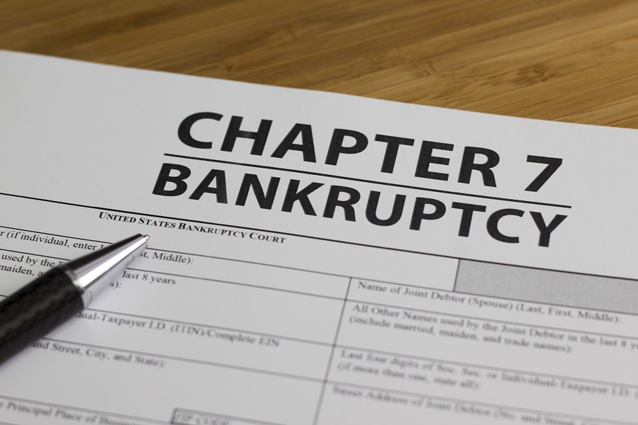 chapter 7 bankruptcy form