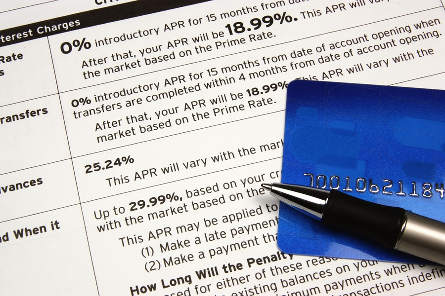 bigstock Card On Credit Terms