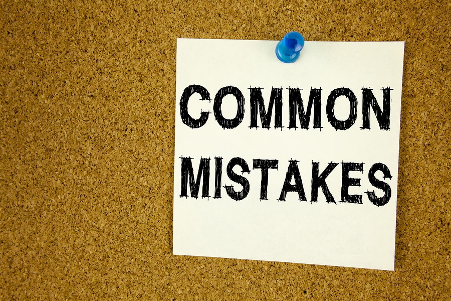 COMMON MISTAKES text