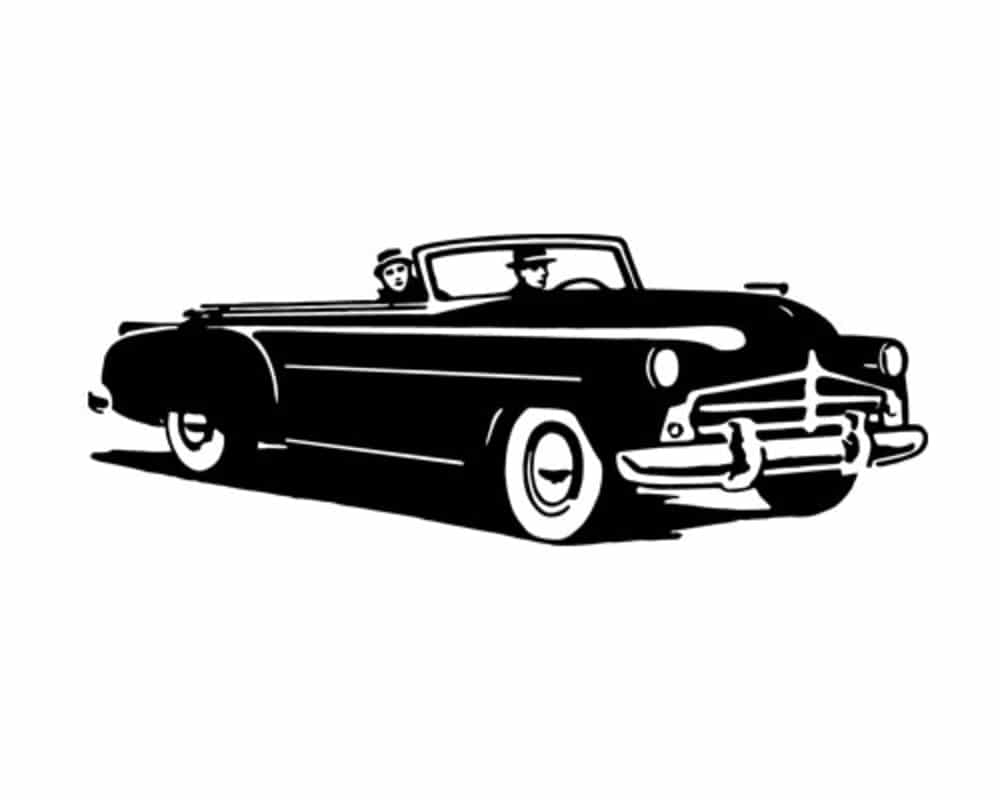 bigstock Convertible Cruising Retro C