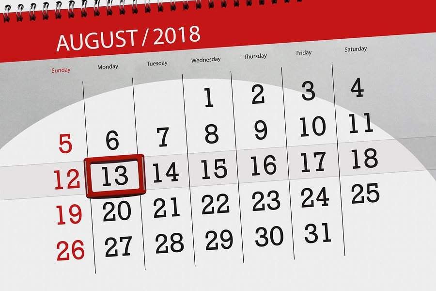 bigstock Calendar Planner For The Month