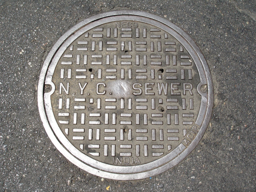 bigstock NYC Sewer Manhole Cover