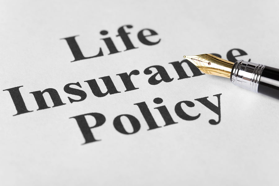 LIFE INSURANCE POLICY text